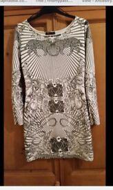 New tags black n white bodycon dress Rihanna's 10