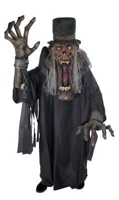Creature Reacher Halloween Costumes (SHADY SLIM CREATURE REACHER ADULT MENS COSTUME Scary Creepy Prop Party)