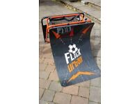Flick urban football skills trainer