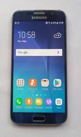 Samsung Galaxy S6, 32GB, Blue, Excellent condition, Unlocked