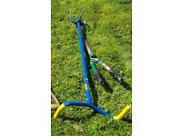 GARDEN CLAW and HEDGE SHEARS
