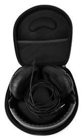Hard Black EVA Storage case For Headphones.