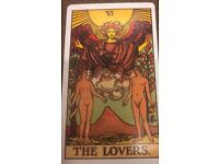 Friendly, warm and caring i will give you a tarot reading that Helps you find clarity.