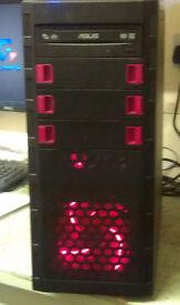 NEW BUILD AMD X 2 265 DUAL CORE PC COMPUTER 120GB SSD 8GB RAM GT430 GRAPHICS