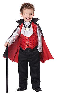 Vampire Count Dracula Dapper Toddler Boys Costume - Toddler Vampire Costumes