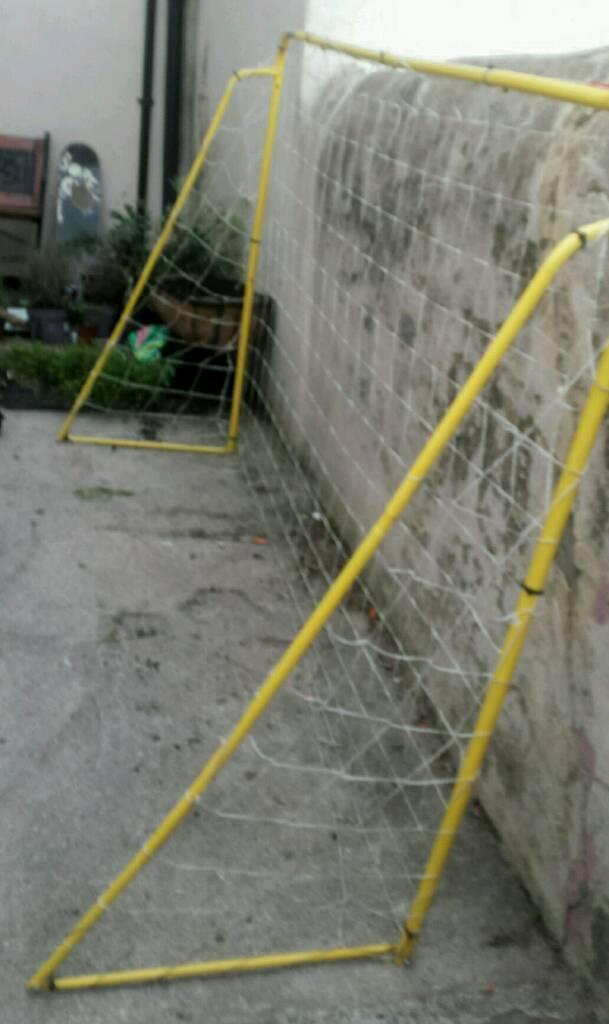 FOOTBALL GOAL NETin Great Harwood, LancashireGumtree - Hardly used football Goal net