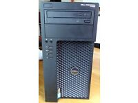Dell Precision T1700 Intel i7 4770 @3.4Ghz 8GB 500GB+2 TB Win 10 Pro Quadro 2000