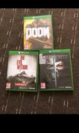 Evil Within Doom and Dishonored 2