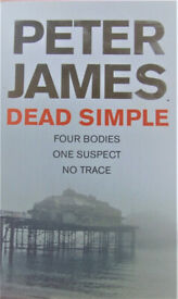 Peter James - DEAD SIMPLE - NEW condition
