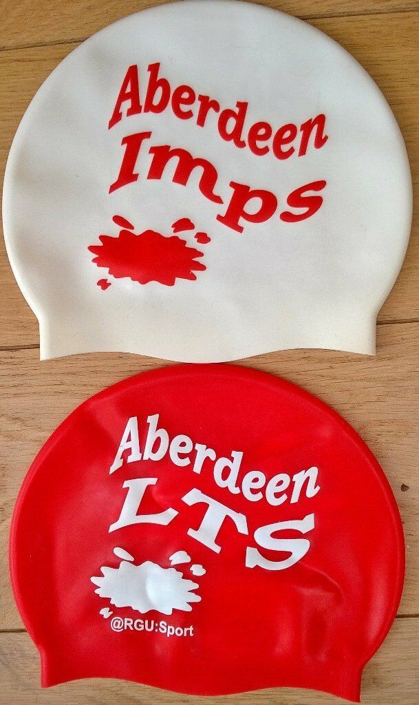 Childs swimming caps for Aberdeen LTSin AberdeenGumtree - For Aberdeen LTS swimming lessons. One beginners cap and one Improvers cap. Photo attached