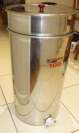 Honey settling tank - stainless steel - for bee keepers