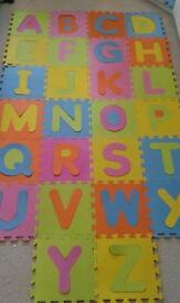 Abc foam floor puzzle mat