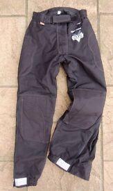 Ladies Motorbike motorcycle trousers by Frank Thomas 10/12