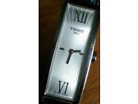 Tissot Ladies Quartz Watch Rectangular Slim Dial