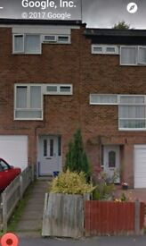 3 bed house exchange in Bartley Green for Edgbaston , spark Brook, surrounding areas