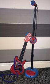 Spider-Man Guitar & Microphone