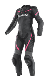 Genuine DAINESE ladies one piece leather race suit