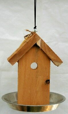 Bird Feeder Pie Pan Seed Feeder