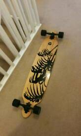 "Ridge Skateboards 41"" twintip longboard"