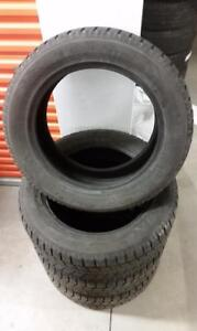 (H142) 4 Pneus Hiver - 4 Winter Tires 255-55-19 Toyo 7/32