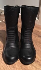 Women's Oxford Motorcycle Boots