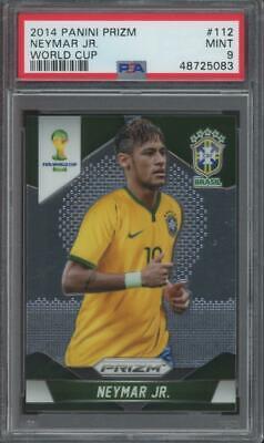 2014 Panini Prizm World Cup #112 Neymar Jr Mint PSA 9