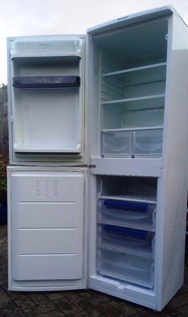 hotpoint ice diamont FFA52,fridge/freezer