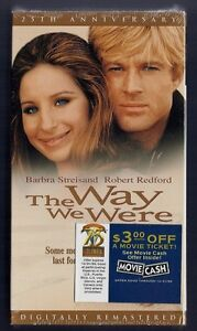 NEW VHS! THE WAY WE WERE Barbra Striesand Robert Redford Bradford Dillman