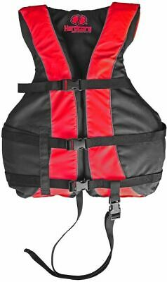 High Visibility Life Jacket Vest with Additional Leg Strap |