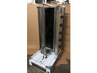 CANMAC 5 BURNER ELECTRIC SHAWARMA DONER KEBAB MACHINE SINGLE PHASE,40A,9.5KW