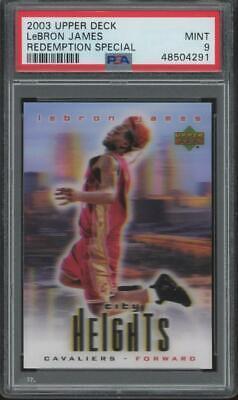 2003 Upper Deck Redemption Special LeBron James RC Rookie Mint PSA 9