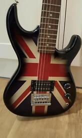 Union Jack Electeic Guitar