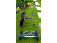 Manual Lawnmower 18 inches