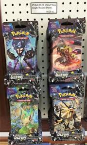 Pokemon Ultra Prism Sun & Moon TCG New Release IN STOCK $4.25/pk Elite trainer boxes, blisters & More!