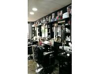 Busy barber shop in very busy road weekly incom 1200,1000 , only 500 rent monthly bills in.