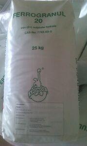 Moosverdränger Eisendünger Rasendünger 25 kg bis 1000m² GartenDünger