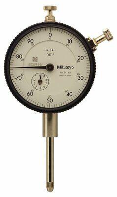 Mitutoyo 2416sb Dial Indicator 0-1 Range .001 Graduation