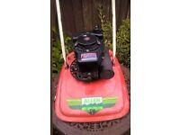 Alen mower petrol lawn mower model number 216 orange Great mower