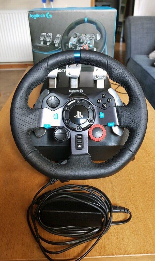 LOGITECH G29 PS4/PS3/PC - Steering wheel and pedals | in Edinburgh City  Centre, Edinburgh | Gumtree