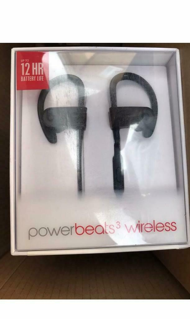 561bb72af7d Beats by Dr. Dre Powerbeats3 Wireless Ear-hook Headphones - Black.  Condition New