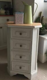 Shabby Chic Pine Hallway Chest of Drawers
