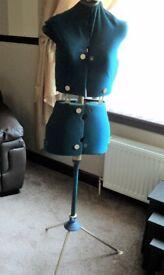 Vintage Dressmakers Adjustable Mannequin