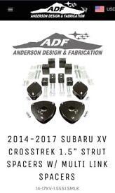 "ADF Subaru XV/Forester 1.5"" Lift Kit, Brand New Boxed"
