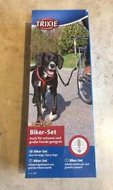 BRAND NEW UNBOXED Trixie Bike/Dog walking set