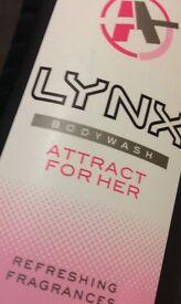 Ladies LYNX shower gels