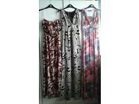 £2 PER DRESS! BNWT Wholesale joblot trade bundle 25x maxi dresses size 8&10
