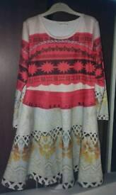 Girl moana dress for 130cm, 140cm