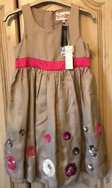 John Rocha Girls Dress Age 7 NEW WITH TAGS
