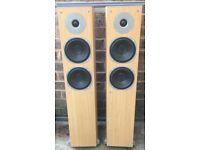 180W Eltax Mirage 10i 3 way bass reflex speakers Floor standing bi-wire GREAT SOUNDS!