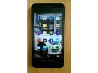 blackberry z10 on 02